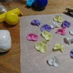樹脂粘土にはまっています。