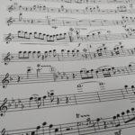 楽譜の編曲作業を急ピッチで進めています